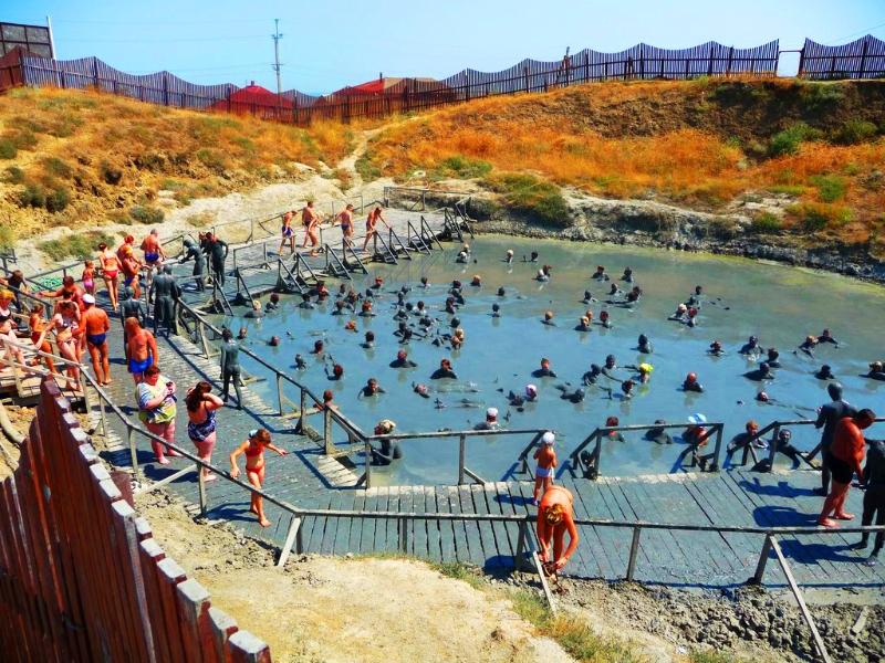 все вулкан тиздар азовское море фото день работников